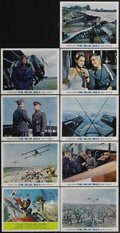 "Movie Posters:War, The Blue Max (20th Century Fox, 1966). Lobby Card Set of 9 (11"" X14""). Deluxe set of nine lobby cards from World War I avia...(Total: 9 Items)"