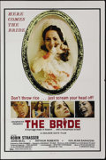 """Movie Posters:Horror, The Bride (Unisphere, 1973). One Sheet (27"""" X 41""""). A disturbed new bride (Robin Strasser) catches her husband (Arthur Rober..."""