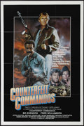 """Movie Posters:War, Counterfeit Commandos (American Transcontinental, 1981). One Sheet(27"""" X 41""""). Bo Svenson and Fred Williamson star in yet a..."""