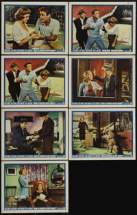 """Dead Ringer (Warner Brothers, 1964). Lobby Cards (7) (11"""" X 14""""). Here's a neat lot of lobby cards. Six Intern..."""
