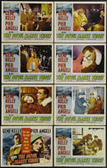 """Movie Posters:Thriller, The Devil Makes Three (MGM, 1952). Lobby Card Set of 8 (11"""" X 14""""). Gene Kelly is Air Force captain Jeff Eliot, who is retur... (Total: 8 Items)"""