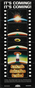 "Movie Posters:Animated, Fantastic Animation Festival (Cinema Shares International, 1977). Insert (14"" X 36""). This trippy full-length feature put th..."