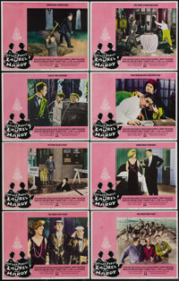 """The Further Perils of Laurel and Hardy (20th Century Fox, 1967). Lobby Card Set of 8 (11"""" X 14""""). Nice set of..."""