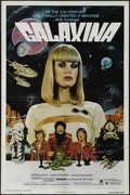 "Movie Posters:Comedy, Galaxina (Crown-International, 1980). One Sheet (27"" X 41""). Style ""B."" Dorothy Stratten and Stephen Macht star in this spac..."