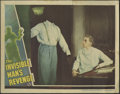 """Movie Posters:Horror, The Invisible Man's Revenge (Universal, 1944). Lobby Cards (2) (11"""" X 14""""). Two rare original Universal horror cards for the... (Total: 2 Items)"""