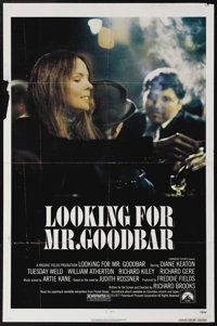 """Looking for Mr. Goodbar (Paramount, 1977). One Sheet (27"""" X 41""""). A young woman (Diane Keaton) seeks to escape..."""