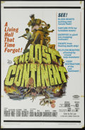"Movie Posters:Adventure, The Lost Continent (20th Century Fox, 1968). One Sheet (27"" X 41"").Very nice artwork of screaming scantily-clad women being..."
