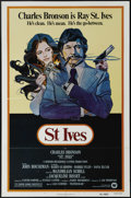 "Movie Posters:Adventure, St. Ives (Warner Brothers, 1976). One Sheet (27"" X 41""). CharlesBronson is Raymond St. Ives, a crime writer hired by gentle..."
