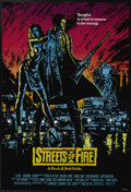 "Movie Posters:Action, Streets of Fire (Universal, 1984). One Sheet (27"" X 41""). When the girlfriend of a mercenary is kidnapped, he begins a viole..."