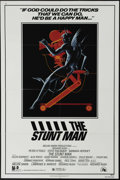 "Movie Posters:Adventure, The Stunt Man (20th Century Fox, 1980). One Sheet (27"" X 41""). Afugitive hides out on the set of a movie and takes a job as..."