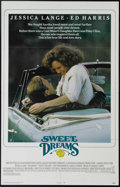 "Movie Posters:Drama, Sweet Dreams (Tri Star Pictures, 1985). One Sheet (27"" X 41""). Jessica Lange stars as ill-fated singer Patsy Cline in this s..."