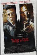 """Movie Posters:Action, Tango & Cash (Warner Brothers, 1989). One Sheet (27"""" X 41""""). Kurt Russell and Sylvester Stallone star in this buddy cop flic..."""