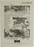 Movie Posters:Fantasy, The Wonderful World of the Brothers Grimm (MGM, 1962). Pressbook (Multiple Pages). The first film released in 3-camera Ciner...