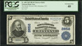 National Bank Notes:Wyoming, Cheyenne, WY - $5 1902 Plain Back Fr. 608 The Stock Growers NB Ch. # 2652. ...