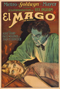 "Movie Posters:Fantasy, The Magician (MGM, 1926). Argentinean Poster (29"" X 43"").. ..."