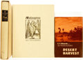 Books:Americana & American History, [Americana & American History] [California]. Group of ThreeLIMITED Editions, Two of Which is SIGNED. Various publishers and...(Total: 3 Items)