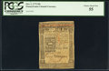 Colonial Notes:Pennsylvania, Pennsylvania October 1, 1773 50s PCGS Choice About New 55.. ...