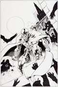 Original Comic Art:Covers, Alan Davis and Mark Farmer JSA #8 Cover Original Art (DC,2000)....