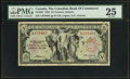 Canadian Currency: , Toronto, ON- The Canadian Bank of Commerce $5 Jan. 2, 1935 Ch. # 75-18-04. ...