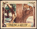 "Movie Posters:Adventure, Trailing the Killer (World Wide, 1932). Lobby Card (11"" X 14"").Adventure.. ..."