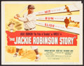 """Movie Posters:Sports, The Jackie Robinson Story (Eagle Lion, 1950). Title Lobby Card (11"""" X 14""""). Sports.. ..."""