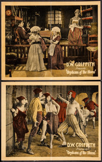"Orphans of the Storm (United Artists, 1921). Lobby Cards (2) (11"" X 14""). Drama. ... (Total: 2 Items)"