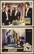 """Movie Posters:Crime, The Big Shot & Other Lot (Warner Brothers, 1942). Lobby Cards(2) (11"""" X 14""""). Crime.. ... (Total: 2 Items)"""