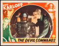 """Movie Posters:Horror, The Devil Commands (Columbia, 1941). Lobby Card (11"""" X 14""""). Horror.. ..."""