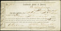 Confederate Notes:Group Lots, Interim Depository Receipt Columbia, (SC)- $400 June 30, 1864Tremmell SC-66.. ...