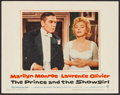 "Movie Posters:Romance, The Prince and the Showgirl (Warner Brothers, 1957). Lobby Card (11"" X 14""). Romance.. ..."