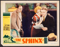 "Movie Posters:Mystery, The Sphinx (Monogram, 1933). Lobby Card (11"" X 14""). Mystery.. ..."