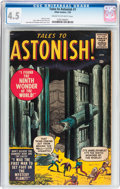 Silver Age (1956-1969):Horror, Tales to Astonish #1 (Marvel, 1959) CGC VG+ 4.5 Cream to off-whitepages....