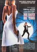 "Movie Posters:James Bond, The Living Daylights (United Artists, 1987). German A1 (23.25"" X33""). James Bond.. ..."