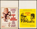 "Movie Posters:War, Cast a Giant Shadow & Other Lot (United Artists, 1966). WindowCards (2) (14"" X 22""), Cut Pressbook (12 Pages, 13.25"" X 18"")...(Total: 4 Items)"
