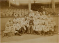 Baseball Collectibles:Photos, 1888 New York Giants Team Photograph by Joseph Hall....