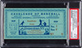 Baseball Collectibles:Tickets, 1939 Baseball Hall of Fame Opening Ticket Stub, PSA EX-MT 6....