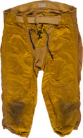Football Collectibles:Uniforms, Early 1950's Washington Redskins Game Worn Pants....