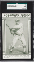 Baseball Cards:Singles (1940-1949), 1948 Baseball's Great HOF Exhibits Roger Bresnahan SGC 96 MINT 9 -Pop One, None Higher!...
