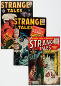 Silver Age (1956-1969):Science Fiction, Strange Tales Group of 8 (Atlas/Marvel, 1955-62) Condition: Average VG-....