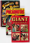Golden Age (1938-1955):Miscellaneous, Golden Age Miscellaneous Comics Group of 4 (Various Publishers, 1940s) Condition: Average VG.... (Total: 4 Comic Books)