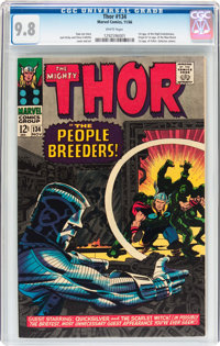 Thor #134 (Marvel, 1966) CGC NM/MT 9.8 White pages