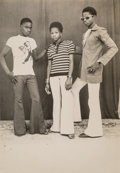 Photographs:Gelatin Silver, Malick Sidibé (Malian, b. 1936). Untitled (threephotographs), 1980s. Gelatin silver. 7 x 5 inches (17.8 x 12.7 cm)(lar... (Total: 3 Items)