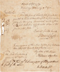 Militaria:Ephemera, [Revolutionary War]. House of Assembly Resolution Awarding Payment...