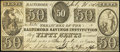 Obsoletes By State:Maryland, Baltimore, MD- Baltimore Savings Institution 50¢ July 26, 1840. ...