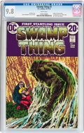 Bronze Age (1970-1979):Horror, Swamp Thing #1 (DC, 1972) CGC NM/MT 9.8 White pages....