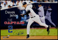 "Baseball Collectibles:Photos, Derek Jeter ""The Captain"" Signed Oversized Photograph. ..."