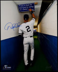 "Baseball Collectibles:Photos, Derek Jeter ""The Tunnel"" Signed Oversized Photograph. ..."