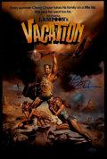 "Miscellaneous Collectibles:General, Chevy Chase ""National Lampoon's Vacation"" Signed Oversized Print. ..."