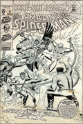 Original Comic Art:Covers, John Romita Sr. Amazing Spider-Man Annual #6 Cover OriginalArt (Marvel, 1969)....