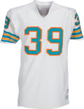 Football Collectibles:Uniforms, Circa 1971-72 Larry Csonka Game Worn Miami Dolphins Jersey....